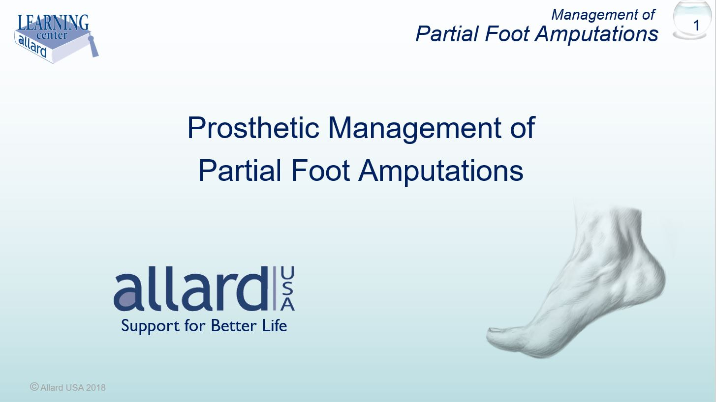 Partial Foot Amputations