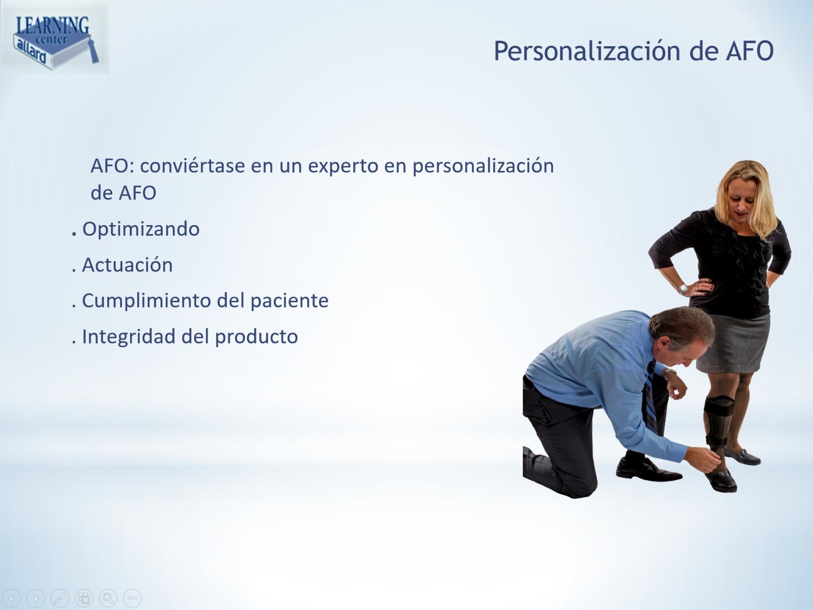 Personalización de Allard AFO Slide